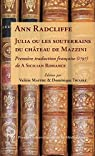 Julia ou les souterrains du château de Mazzini