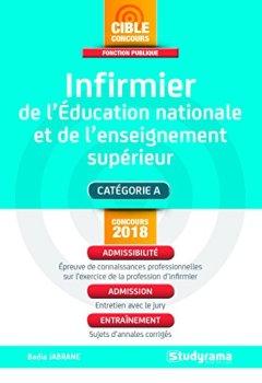 Livres Couvertures de Infirmier de l'Education Nationale et de l'enseignement supérieur