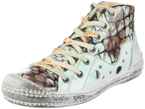 Eject DASS E-13466-V1, Damen Sneaker, Grün (amazonas charol/be green/beige 3166), EU 41