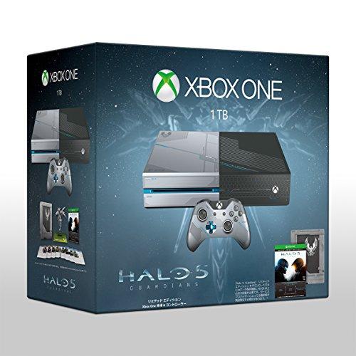 Xbox One 1TB 『Halo 5: Guardians』 リミテッド エディション (KF6-00016) (予約特典【リコン マークスマンライフル & クラッシュ マークスマンライフル スキン】 & Amazon.co.jp限定予約特典【センチネル バトルライフル & ブラッドサースト バトルライフル スキン】(2015年10月22日注文分まで) 付き)