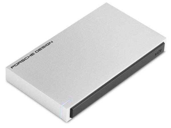 LaCie Porsche Design 2TB External Hard Drive (Silver)
