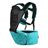 Dopobo 3-36-month Multifunction Breathable Front and Back Baby Carrier Baby Holder Shoulder Waist Stool (04 Blue)