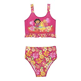 Toddler Girls' Dora the Explorer 2-pc. Swimsuit - Pink