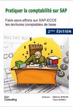 Livres Couvertures de Pratiquer la comptabilité sur SAP
