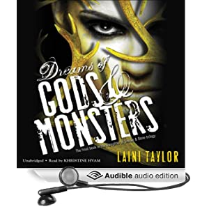Dreams of Gods & Monsters: Daughter of Smoke and Bone, Book 3