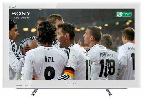 Sony KDL26EX555 66 cm (26 Zoll) LED-Backlight-Fernseher, Energieeffizienzklasse B (HD-Ready, 50Hz, DVB-T/C/S2, Internet TV) weiß