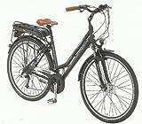 Stratos Damen Alu-Trekking-Elektrofahrrad ENTDECKER 4, mattschwarz, Rahmenhöhe: 50 cm, Reifengröße: 28 Zoll (71 cm), 2987