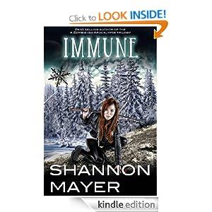 Immune: A Sexy Urban Fantasy Mystery (Rylee Adamson # 2)