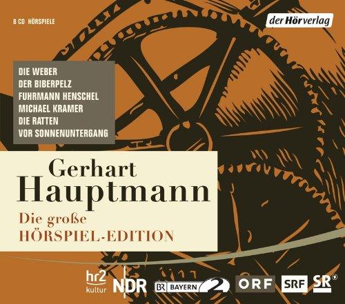 Gerhart Hauptmann  Hörspieledition Cover