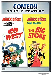 "Cover of ""Marx Bros.: Go West/The Big Sto..."