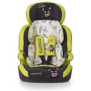 Cosatto Zoomi Group 1-2-3 High Back Booster Car Seat (Little Monster)