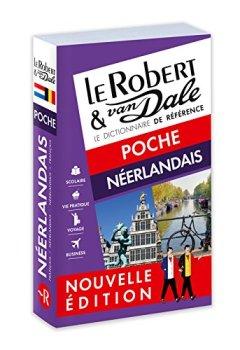 Livres Couvertures de Dictionnaire Le Robert & Van Dale Poche néerlandais