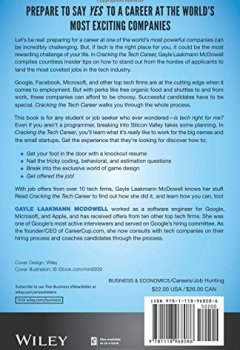 Livres Couvertures de Cracking the Tech Career: Insider Advice on Landing a Job at Google, Microsoft, Apple, or any Top Tech Company