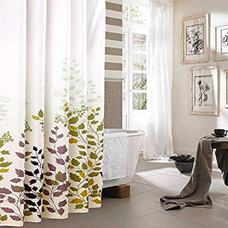 wakingamy waterproof fabric shower curtain bath shower curtains for bathroom