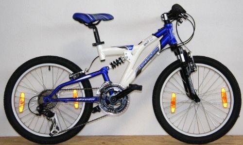 spyder 20 zoll 50 8 cm alu kinderfahrrad montainbike fully skip fahrrad testsieger. Black Bedroom Furniture Sets. Home Design Ideas