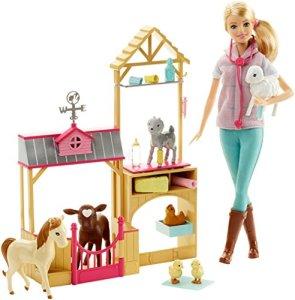 Barbie-Careers-Farm-Vet-Doll-Playset