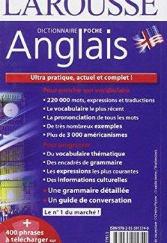Livres Couvertures de Dictionnaire Larousse poche Anglais