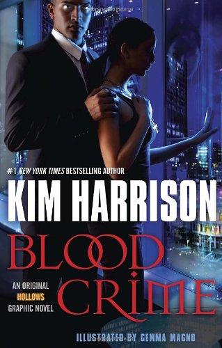 Blood Crime (Graphic Novel): An Original Hollows Graphic Novel (Hollows (del Rey))