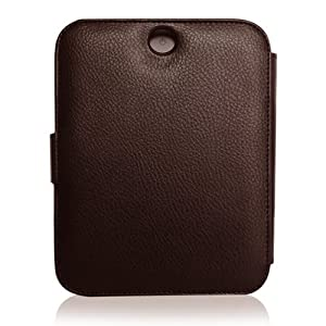 CaseCrown Regal Flip Case (Brown) for Barnes & Noble All New NOOK, The Simple Touch Reader