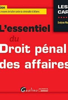 Livres Couvertures de L'Essentiel du Droit pénal des affaires