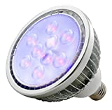 ADJ Products BLB18W 18-Watt Ultraviolet LED Blacklight Par38 Bulb