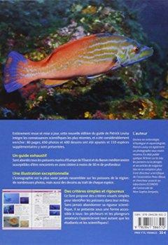 Livres Couvertures de Guide d'identification des poissons marins - Eur.& Méd. (Nouvelle édition)