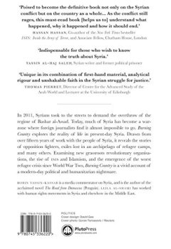 Livres Couvertures de Burning Country: Syrians in Revolution and War