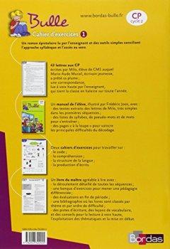 Bulle CP • Cahier d'exercices n°1