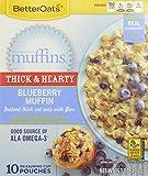 Better Oats Mmmmuffins, Blueberry, 15.1 Ounce