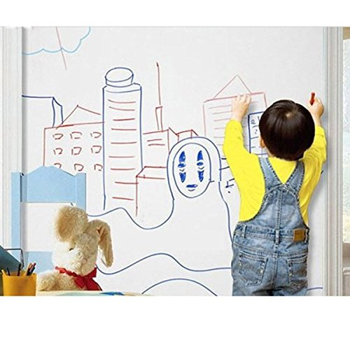 お部屋の中でおもいっきり 落書き シート 90×200 子供部屋 リビング ストレス解消 に