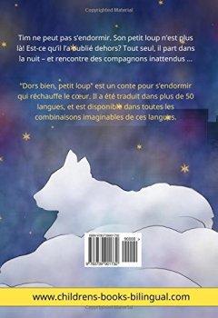 Livres Couvertures de Dors bien, petit loup – Sleep Tight, Little Wolf. Livre bilingue pour enfants (français – anglais)