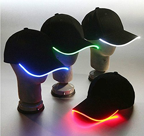 Glovion Fashion LED Light Up Baseball Hat Glow Party Cap