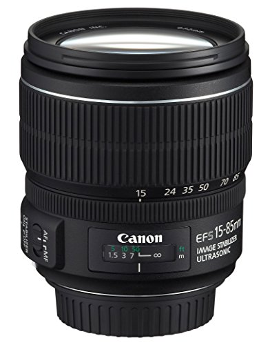 Canon 広角ズームレンズ EF-S15-85mm F3.5-5.6 IS USM APS-C対応