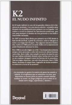 Portada del libro deK2 El nudo infinito (Literatura (desnivel))