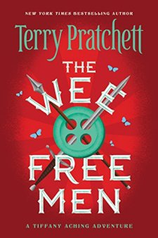 The Wee Free Men (Tiffany Aching) by Terry Pratchett| wearewordnerds.com