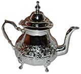 Tea Serving & Glasses Moroccan Serving tea Pot hand made Serving Kettle Large