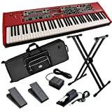 Nord Stage 2 76-Key Stage Piano BUNDLE w/ Keyboard Bag, Stand & Pedals