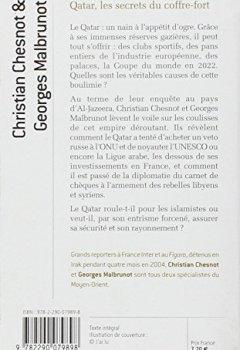 Livres Couvertures de Qatar, les secrets du coffre-fort