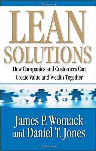 Lean Solutions (J. Womack, Dan Jones)