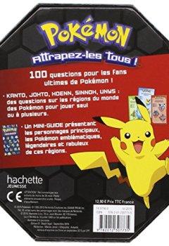 Livres Couvertures de Pokemon / Quiz box - 100 questions sur les Pokemon depuis l'origine