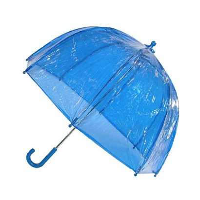 Kids-Clear-Bubble-Umbrella-by-totes-Blue
