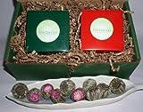 Blooming Tea Gift Box - 10 Jasmine and 10 Green Blooming Teas - FREE Gift Wrap!