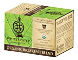 White Coffee Organic Single Serve Coffee, Breakfast Blend, 10 Count