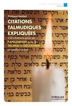 Livres Couvertures de Citations talmudiques expliquées