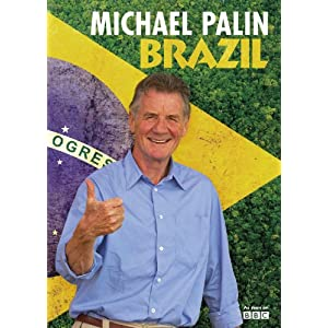 Cover of Michael Palin's new travel book, Brazil