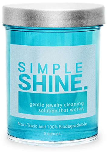 Gentle Jewelry Cleaner Solution | Gold, Silver, Fine & Fashion Jewelry Cleaning | Ammonia Free Clean 1