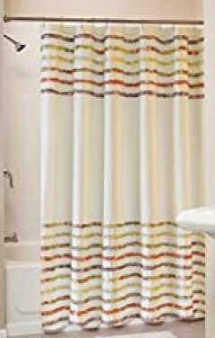 Greenland Home Bella Ruffle Shower Curtain