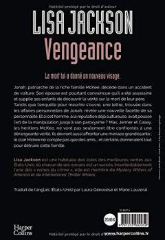 Livres Couvertures de Vengeance: le nouveau thriller de Lisa Jackson