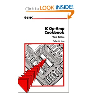 ic op-amp cook book by Walter G. Jung