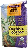 The Organic Coffee Co. Ground, Zen Blend, 12 Ounce (Pack of 3)